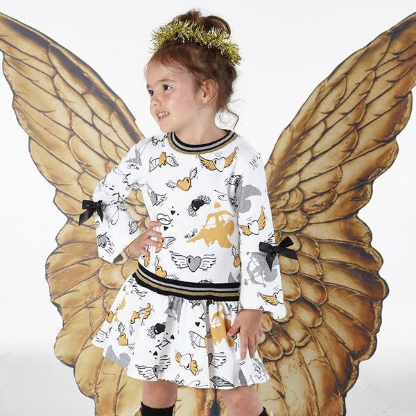 Picture of Ariana Dee Cream Angels Dress