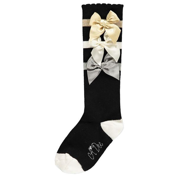 Picture of Ariana Dee Black Knee Socks