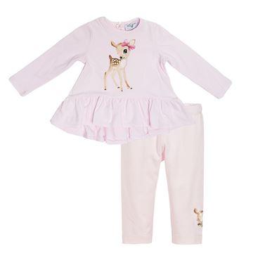 Picture of Monnalisa Baby Pink Leggings Set