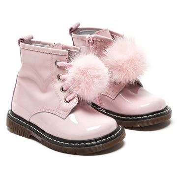 Picture of Monnalisa Pink Patent Leather Boots