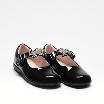 Picture of Lelli Kelly 'Blossom' Wide Fit School Shoes