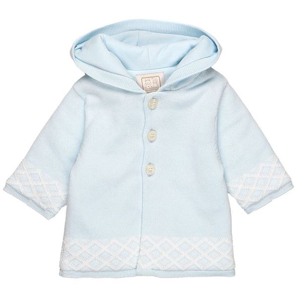 Picture of Emile Et Rose 'Ricky' Pale Blue Coat