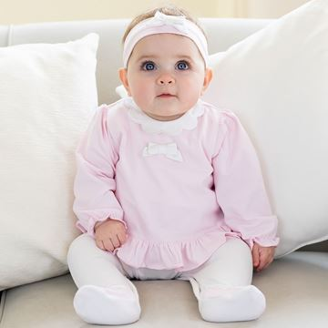 Picture of Emile Et Rose 'Rebecca' Pale Pink Romper