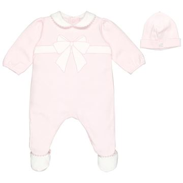 Picture of Emile Et Rose 'Ruth' Pale Pink Romper