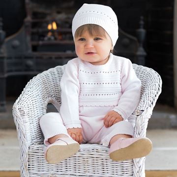 Picture of Emile Et Rose 'Renee' Pale Pink Romper