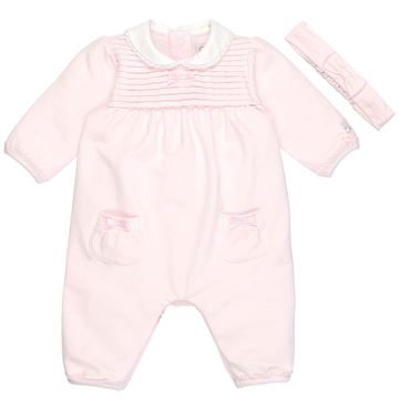 Picture of Emile Et Rose 'Rosalind' Pale Pink Romper With Hairband