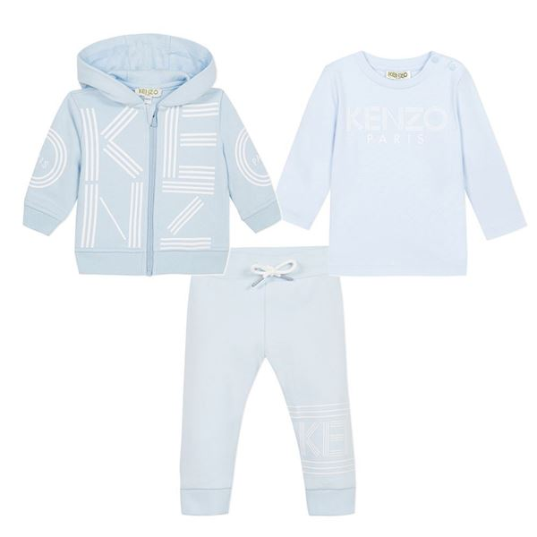 Picture of Kenzo Baby Boy 3 Piece Tracksuit