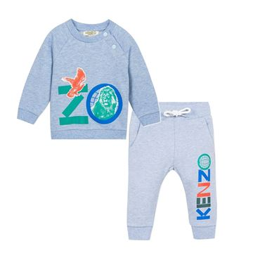 Picture of Kenzo Baby Blue 2 Piece Tracksuit