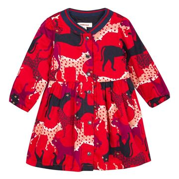 Picture of Catimini Baby Girls Red Printed Dress