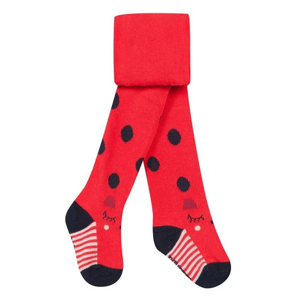 Picture of Catimini Baby Girl Red Printed Tights