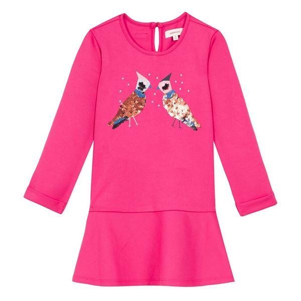 Picture of Catimini Girls Fushia Pink Dress