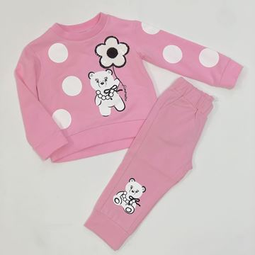Picture of Simonetta Girls Pink Tracksuit