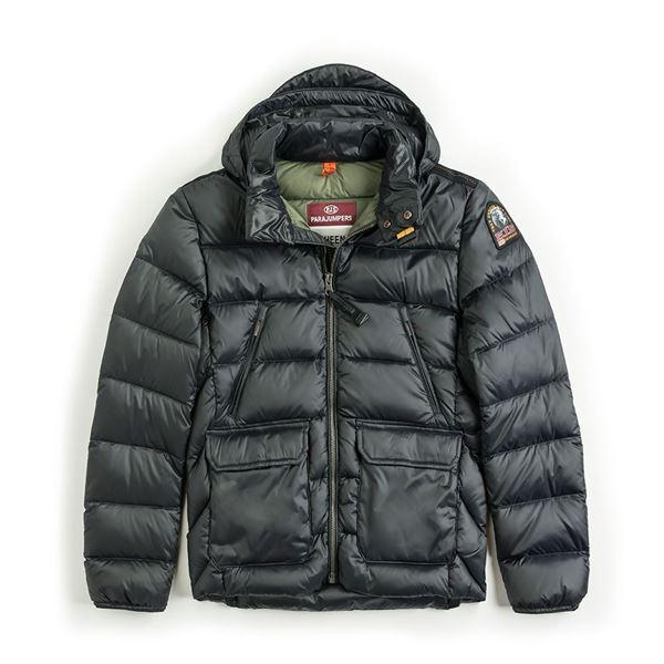 Picture of Parajumpers Boys Black 'Greg' Jacket