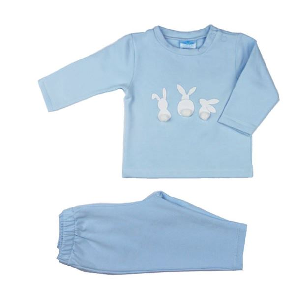 Picture of Sardon Boys Blue 3 Bunny Tracksuit