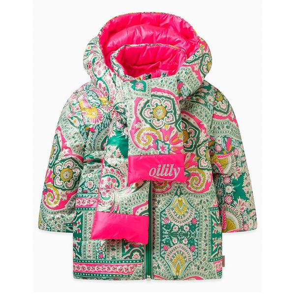 Picture of Oilily Girls 'Cover' Reversible Coat