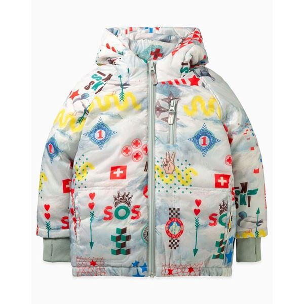 Picture of Oilily Boys 'Cobus' Printed Coat