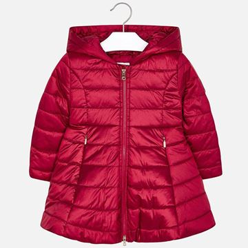 Picture of Mayoral Girls Red Padded Coat