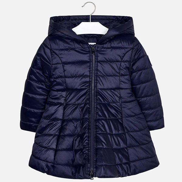 Picture of Mayoral Girls Navy Padded Coat