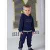 Picture of Mitch & Son 2 Piece Navy Tracksuit