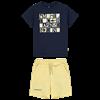 Picture of Mitch & Son 2 Piece Navy Jersey Short Set