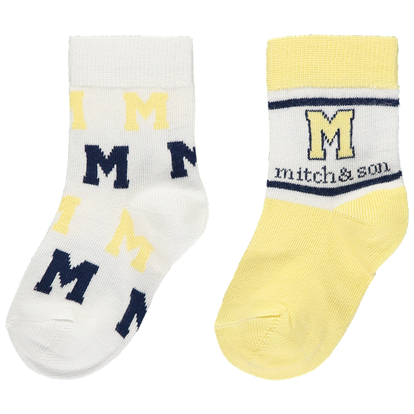 Picture of Mitch & Son Navy Pack of 2 Socks