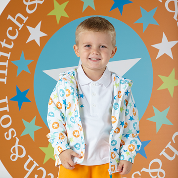 Picture of Mitch & Son Star Print Jacket