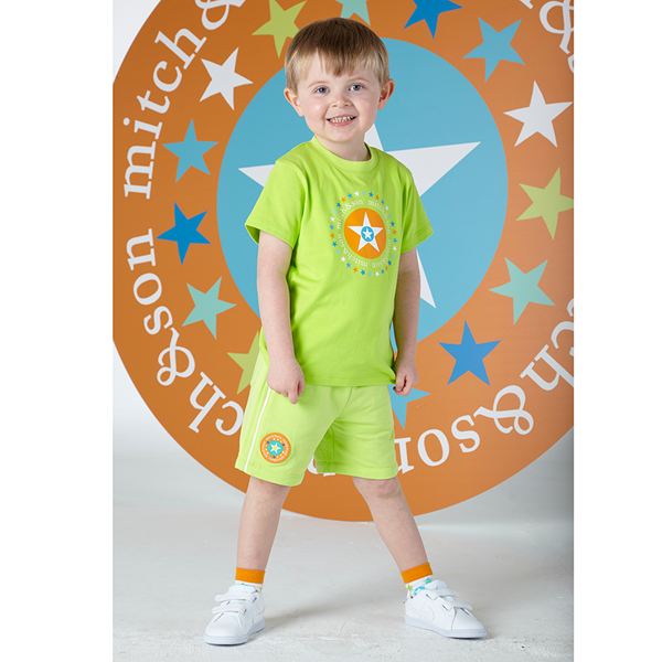 Picture of Mitch & Son 2 Piece Green Short Set