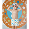 Picture of Mitch & Son 2 Piece Star Print Swimset