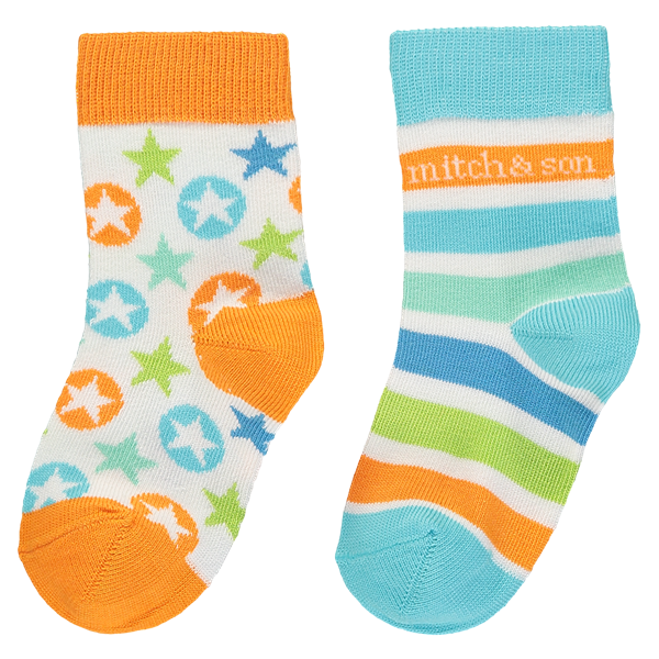 Picture of Mitch & Son Pack of 2 Star Socks