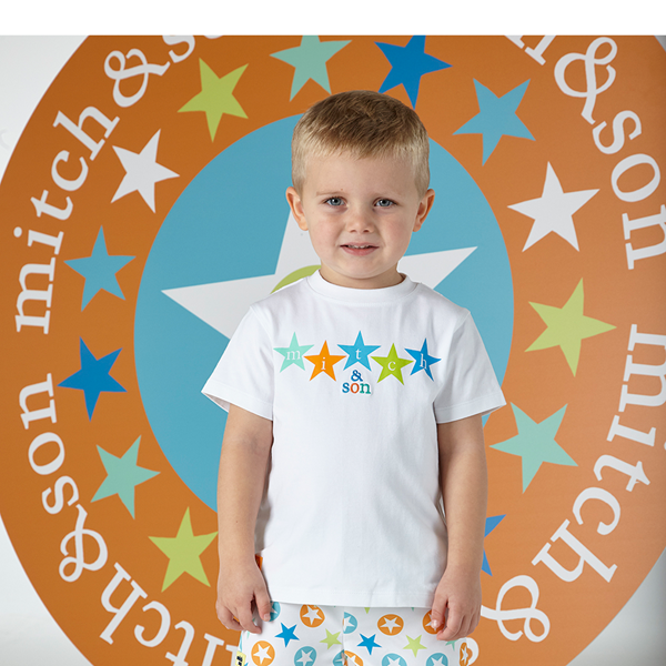 Picture of Mitch & Son 2 Piece Star Short Set