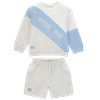 Picture of Mitch & Son Grey & Blue Short Set