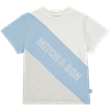 Picture of Mitch & Son Blue & Grey Striped T-Shirt