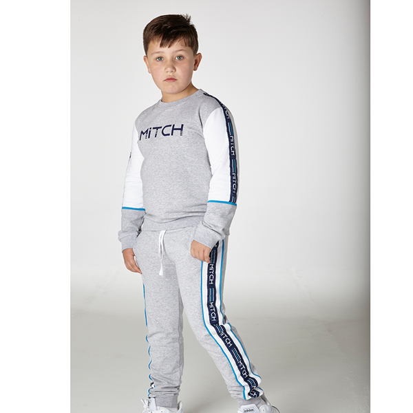 Picture of Mitch Grey Logo Tracksuit
