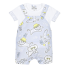 Picture of Kenzo Baby Boys Pale Blue Dungaree Set