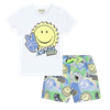 Picture of Kenzo Baby Boy Sticker Print 2 Piece Swimshort Set