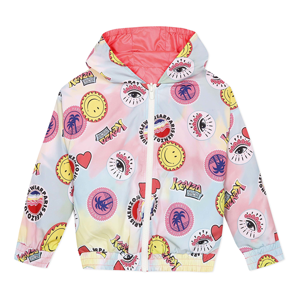 Picture of Kenzo Girls Reversible Printed Jacket
