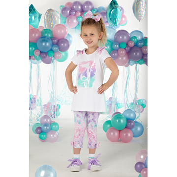 Picture of Ariana Dee Mermaid Printed Leggings Set