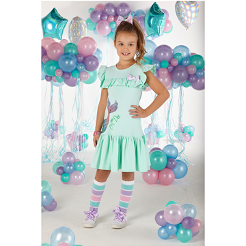 Picture of Ariana Dee Girls Mint Green Mermaid Dress