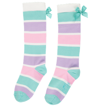 Picture of Ariana Dee Striped Knee Socks