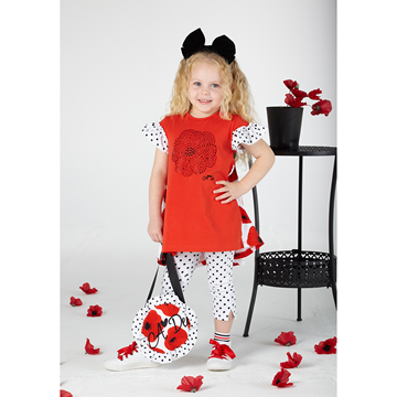 Picture of Ariana Dee Poppy Spot Leggings Set