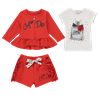 Picture of Ariana Dee Red 3 Piece Short Set