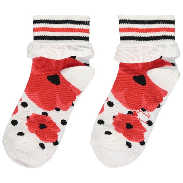 Picture of Ariana Dee Poppy Ankle Socks