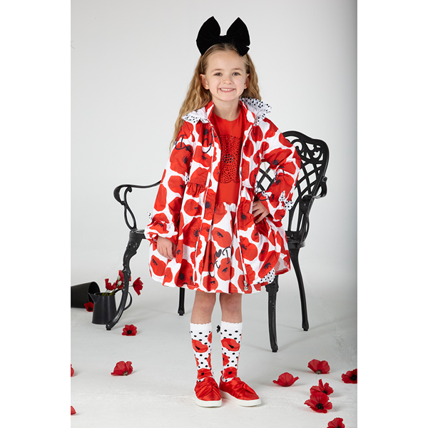 Picture of Ariana Dee Poppy Printed Jacket