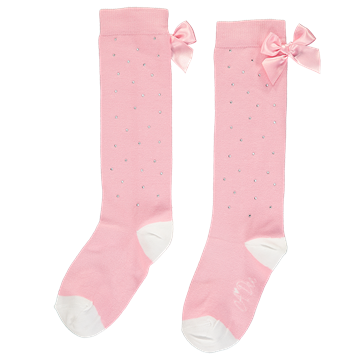 Picture of Ariana Dee Pink Sparkle Knee Sock