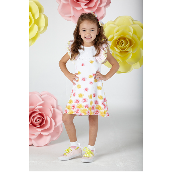Picture of Ariana Dee Rose Print Dress