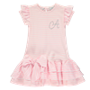 Picture of Ariana Dee Pink Stripe Jersey Dress