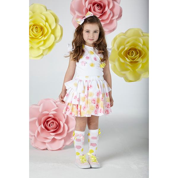Picture of Ariana Dee Rose Skirt Set