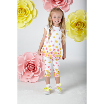 Picture of Ariana Dee Rose Print Leggings Set