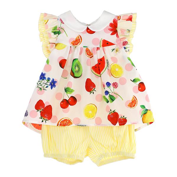 Picture of Monnalisa Baby Fruit 2 Piece Set