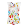 Picture of Monnalisa Girls Fruit Playsuit